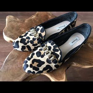 Animal print loafer shoes wear 9 to 10.